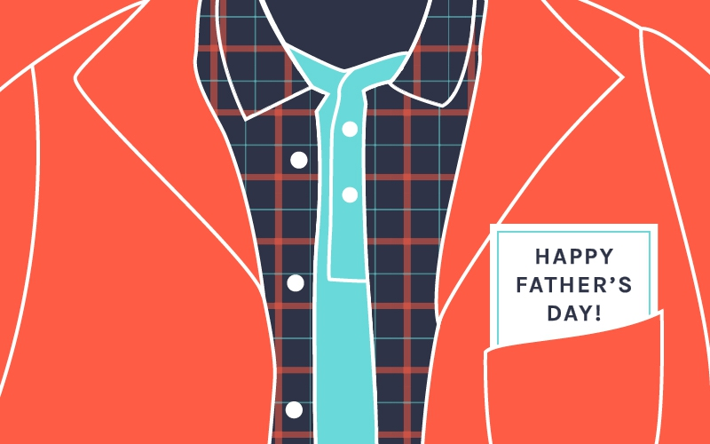 Father's Day - Red