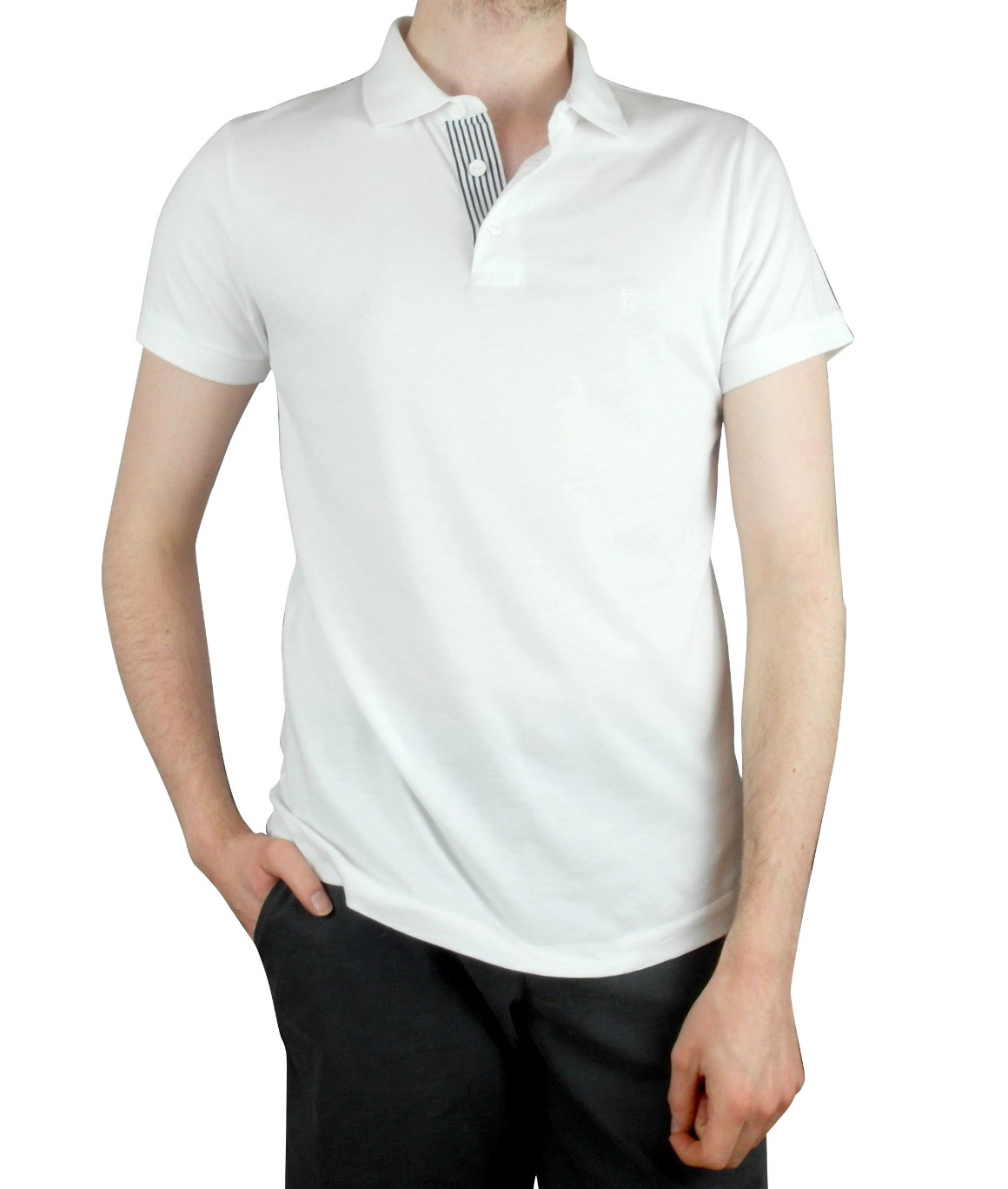 French Connection, BLACK STAR MARLON SS POLO, Plain, Number 2