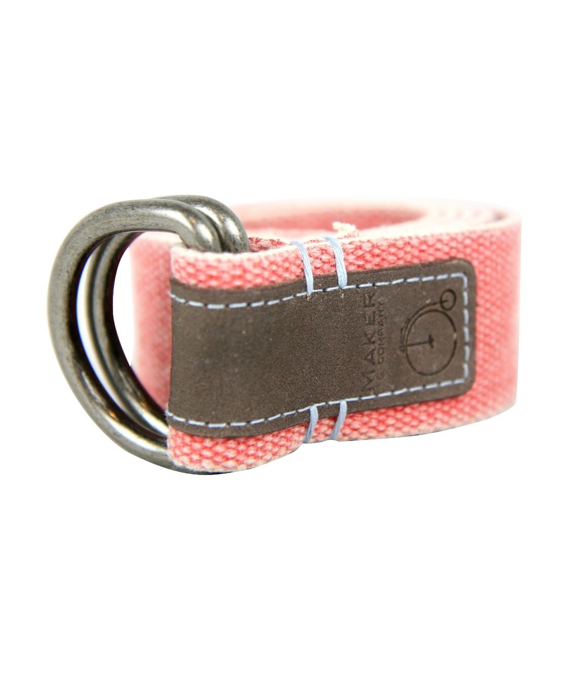 Maker & Company, THE CRIOS WASHED COTTON BELT, Red, Number 1